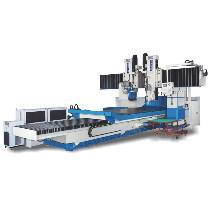 Precision and Heavy Duty Surface Grinding Machine-GSDC-1220-2060PNC