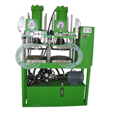 HPC-*-N-Pressurized Cooling Compression Molding Machine- HPC-*-2-N