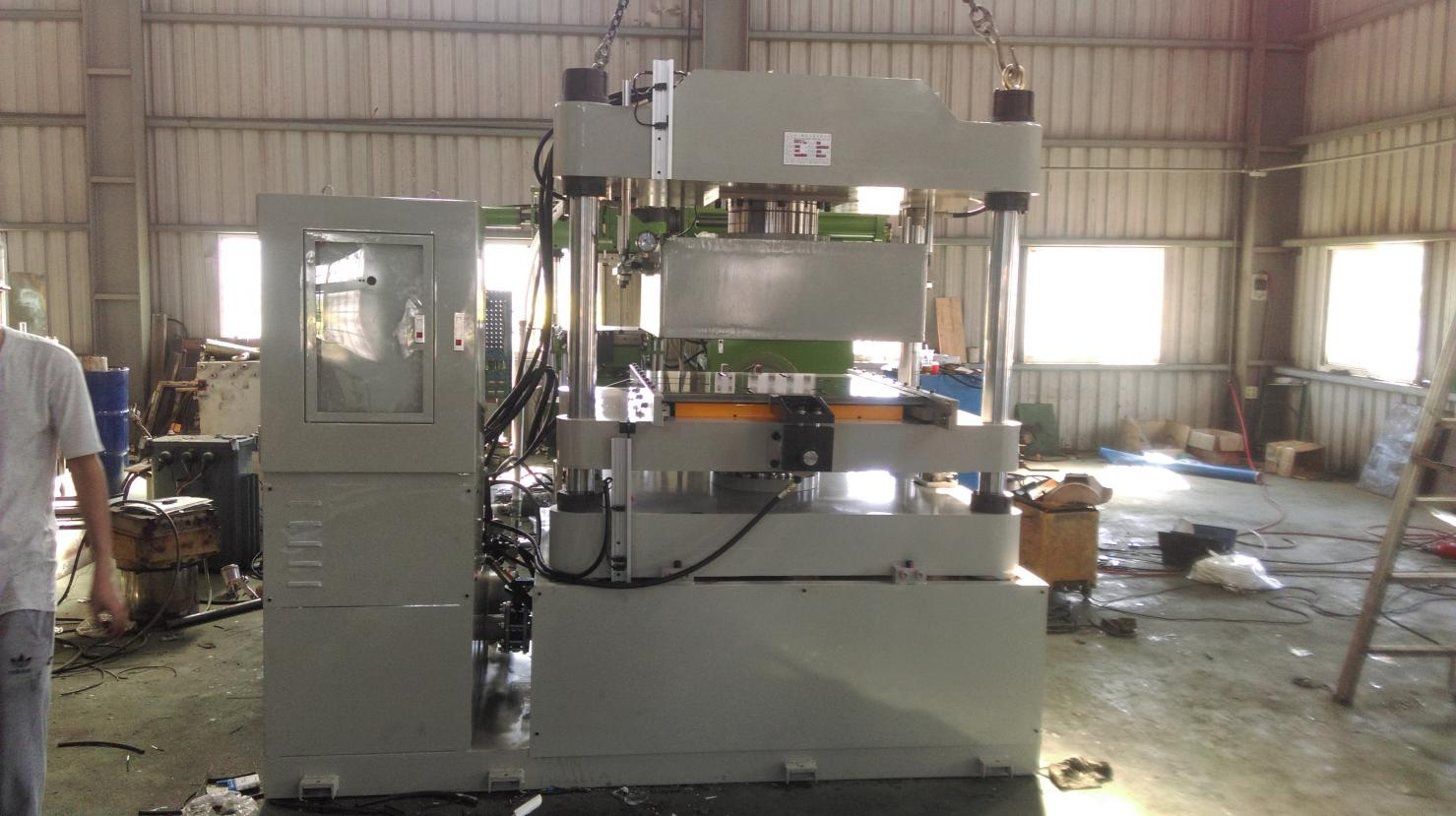 DYPV-S-*-M-Vacuum Type Rubber Compression Molding Machine-DYPV-S-*-M