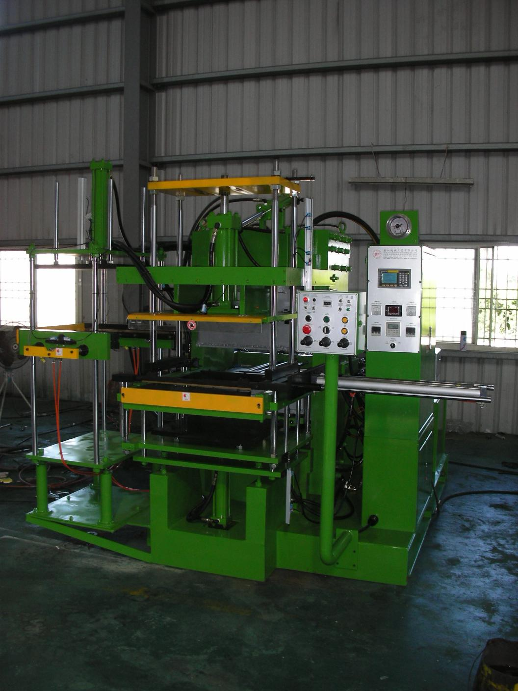 HPV-*-3RT-L-Vacuum Type Oil Seal Compression Molding Machine