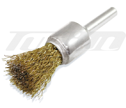 TUF 7612 Brass Coated End Brushers