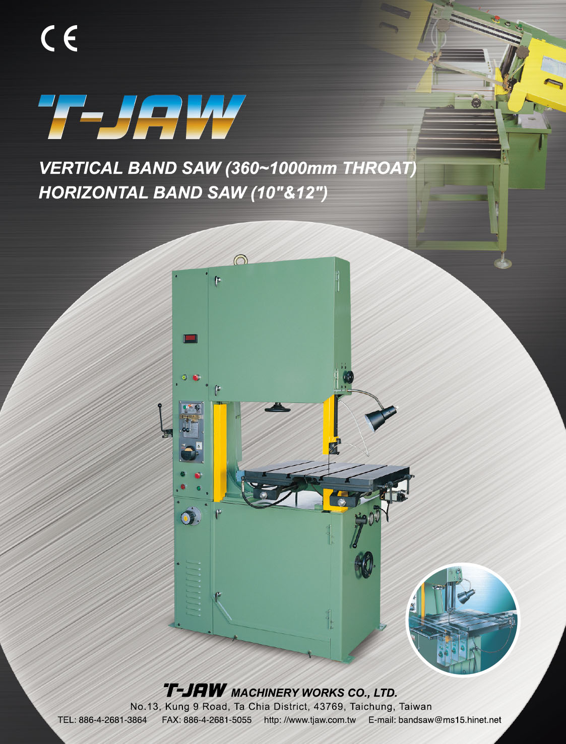 T-JAW MACHINERY WORKS CO., LTD.