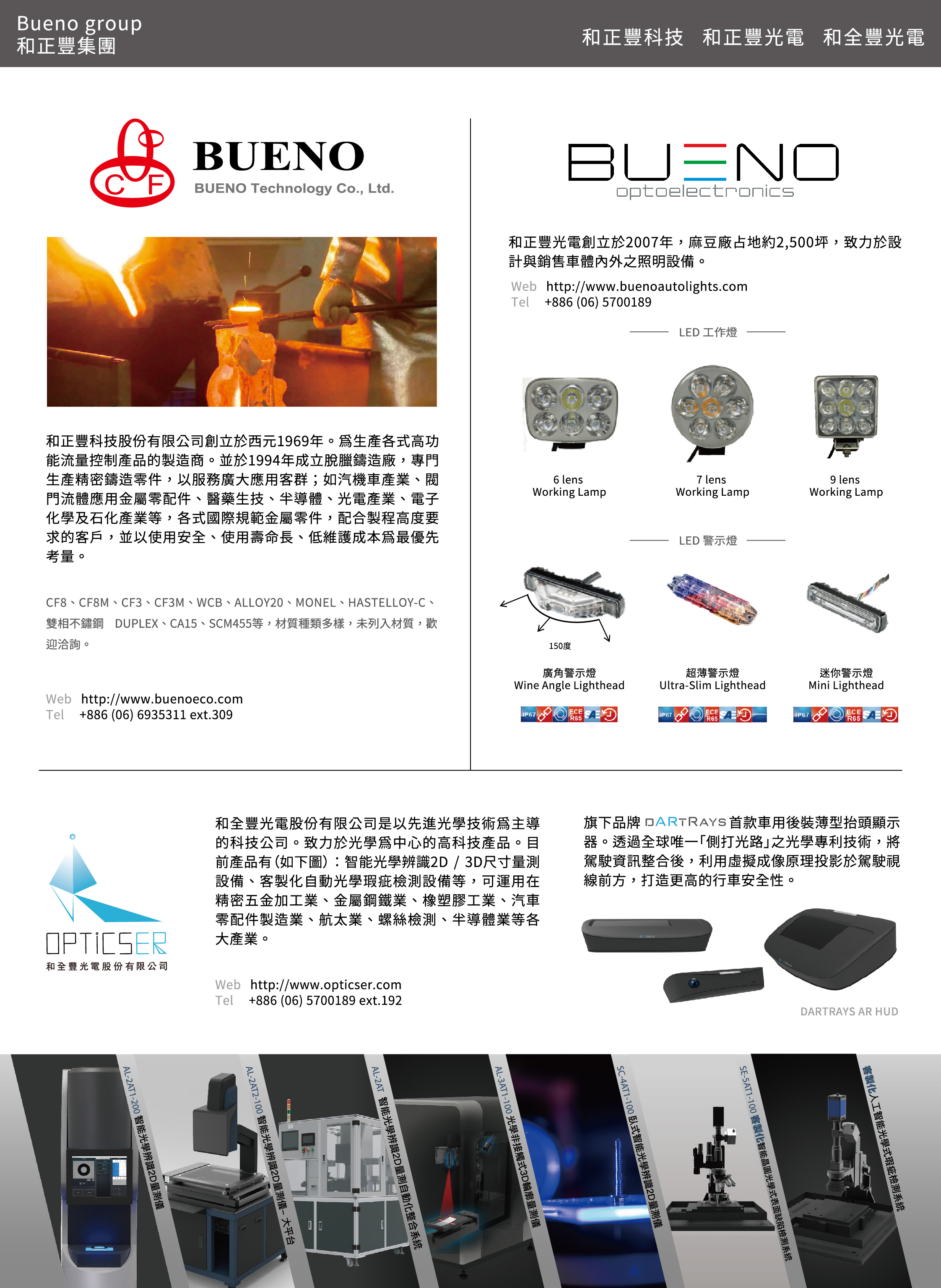 BUENO OPTOELECTRONICS CO.,LTD.