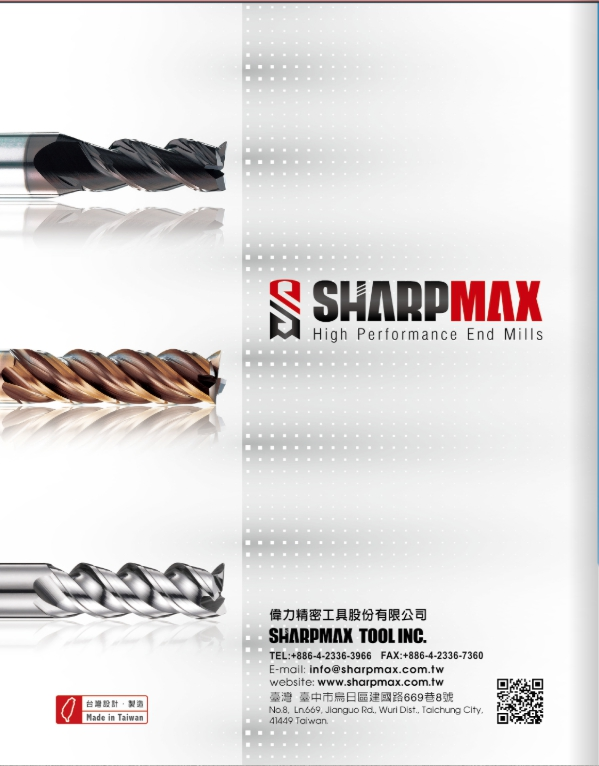 SHARPMAX INDUSTRIAL CUTTING TOOLS.